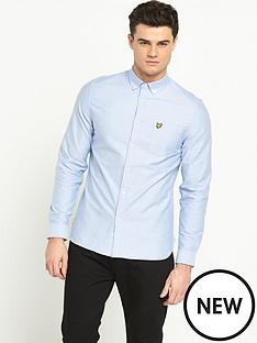 lyle-scott-long-sleeved-oxford-shirt