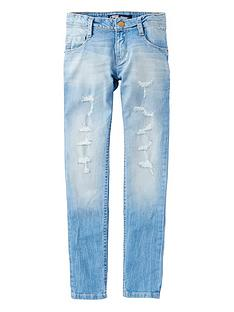 levis-girls-distressed-skinny-jeans