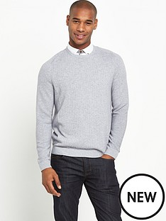 ted-baker-mixed-stitch-crew-necknbspjumper