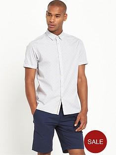 ted-baker-micro-stripe-short-sleevenbspshirt