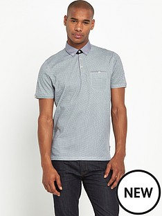 ted-baker-geo-print-polo-shirt