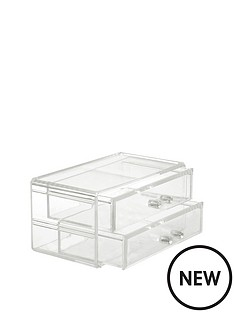 danielle-creations-stackable-beauty-organiser-2-drawers