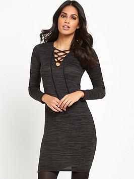 lipsy-criss-cross-knit-bodycon-dress