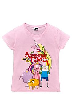adventure-time-adventure-time-short-sleeve-girls-printed-t-shirt