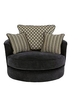 modenanbspfabric-swivel-chair