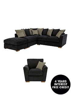 modenanbspleft-hand-fabric-corner-group-with-sofa-bed-armchair-and-footstool-buy-and-save