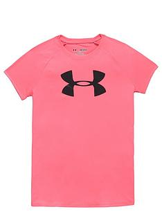 under-armour-under-armour-older-girls-logo-tee