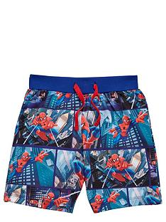 spiderman-boys-jog-shorts