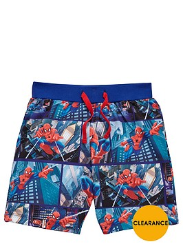 spiderman-boys-jog-shorts
