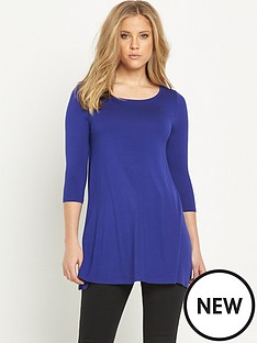 v-by-very-34-sleeve-swing-tunic