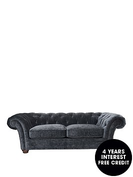 Bardon 2 seater fabric sofa for Sofa 0 interest free credit