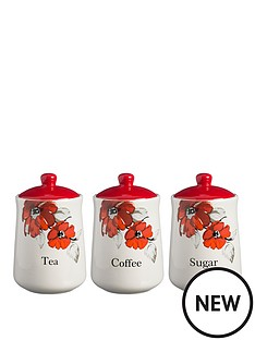 posy-tea-coffee-and-sugar-storage-jar-set