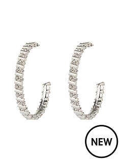 river-island-sparkle-hoop-earrings
