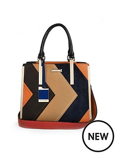 river-island-river-island-panelled-tote-bag