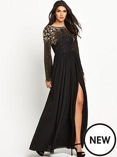 virgos-lounge-virgos-lounge-long-sleeve-embellished-maxi-dress