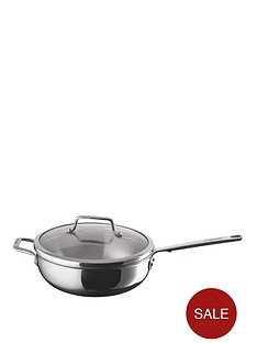 anolon-anolon-authority-stainless-steel-26cm-covered-chefs-pan