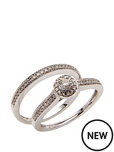 love-diamond-9ct-white-gold-25-point-pave-diamond-two-part-bridal-set