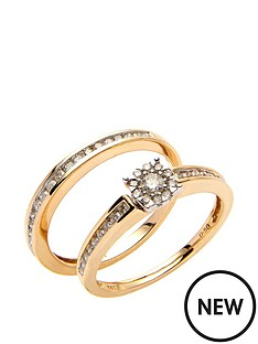 love-diamond-9ct-yellow-gold-50-point-diamond-two-part-bridal-set