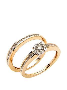 love-diamond-9ct-yellow-gold-50-point-diamond-two-part-bridal-set