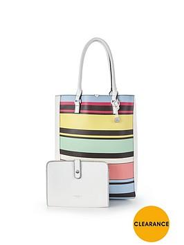 fiorelli-stripe-print-tote-bag