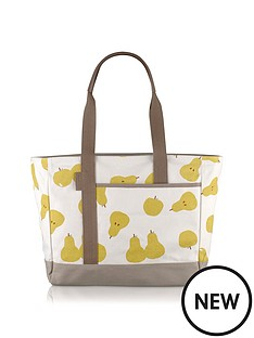 radley-radley-apple-and-pears-large-canvas-tote-bag