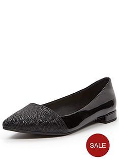 wallis-pointed-black-flat-shoe