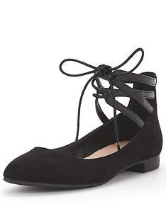 wallis-flat-ghillie-lace-up-shoe