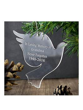 personalised-acrylic-dove-decoration