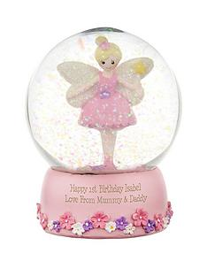 personalised-fairy-snow-globe