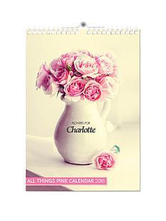 personalised-pink-girly-2016-calendar