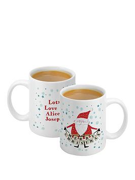 personalised-santa-mug