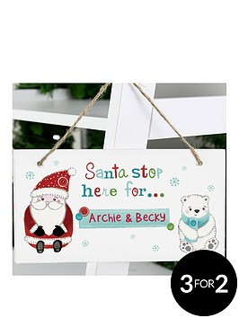 personalised-santa-stop-here-forhellipwooden-sign
