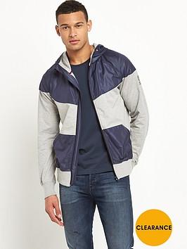 franklin-marshall-franklin-amp-marshall-technical-full-zip-hoodie