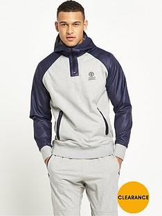 franklin-marshall-franklin-amp-marshall-technical-quarter-zip-hoodie