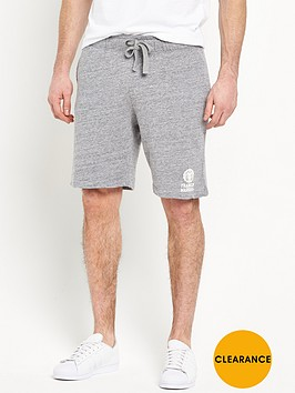 franklin-marshall-franklin-amp-marshall-small-logo-sweat-shorts