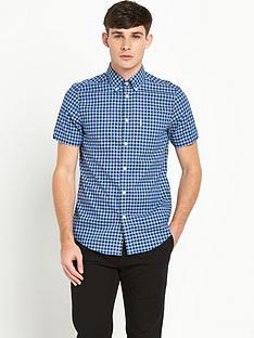 ben-sherman-gingham-short-sleevenbspcheck-shirt