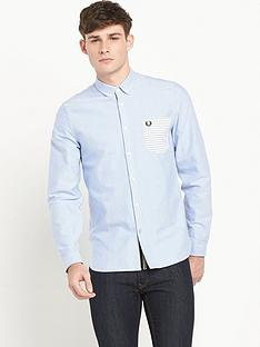 fred-perry-contrast-pocket-mens-shirt