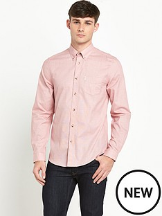 ben-sherman-plain-grindle-mens-shirt