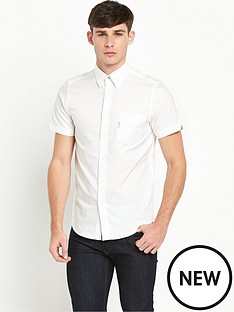 ben-sherman-ben-sherman-short-sleeved-oxford-shirt