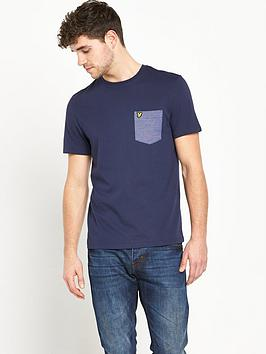 lyle-scott-birdseye-pocket-mens-t-shirt