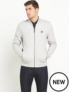 lyle-scott-sweatnbspbomber-jacket