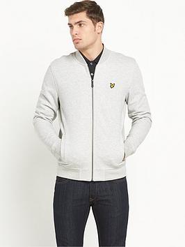 lyle-scott-sweatnbspbomber-jacket