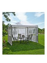 3m Square Steel Gazebo