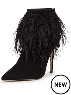 little-mistress-feather-ankle-boot