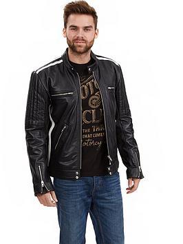 joe-browns-leather-biker-jacket