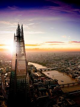 Virgin Experience Days The View from The Shard with a 3Course Meal for 2 at Marco Pierre White&rsquos London Steakhouse Co.