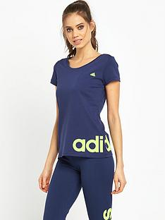 adidas-adidas-essential-linear-t-shirt
