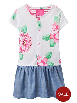 joules-baby-girls-floral-jersey-mix-dress