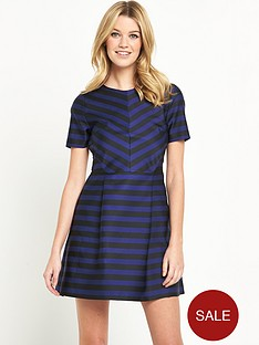 v-by-very-stripe-aline-dress