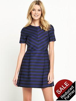 v-by-very-stripe-aline-dress